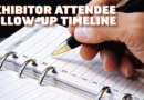 Following Up For Exhibitors – A Timeline