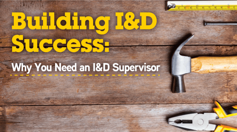 Building I&D Success