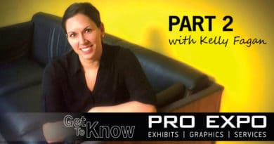 Getting to know PRO Expo – Part 2 with Kelly Fagan