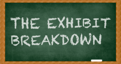 The Exhibit Breakdown