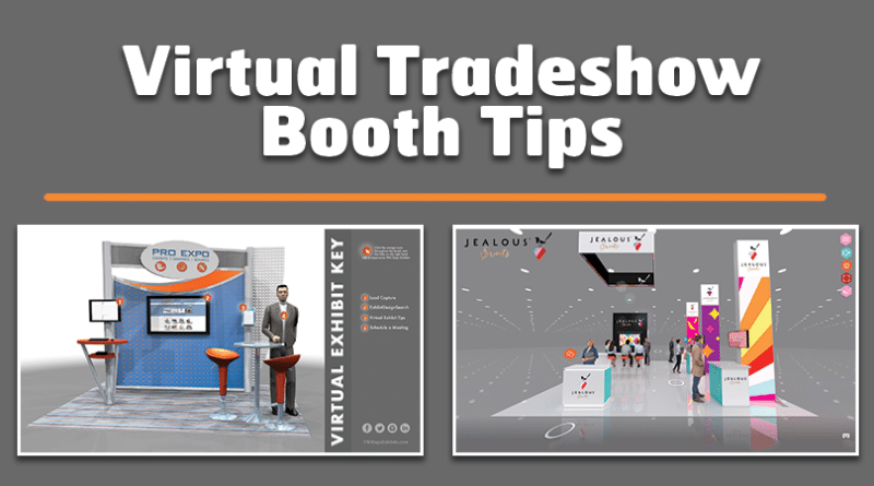 Virtual Tradeshow Booth Tips